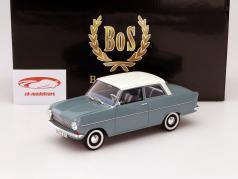 Opel Kadett A Baujahr 1962 blau / weiß 1:18 BoS-Models