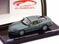 Aston Martin DB7 Vantage verde metálico / verde metálico 1:43 Vitesse