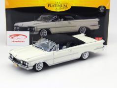 Oldsmobile 98 Closed Convertible Ano 1959 branco / preto 1:18 SunStar
