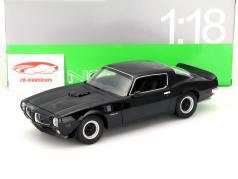 Pontiac Firebird Trans Am Year 1972 black 1:18 Welly
