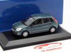 Ford Fiesta Ano 2002 verde 1:43 Minichamps