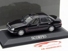 Ford Scorpio Limousine Ano 1996 marrom escuro 1:43 Minichamps