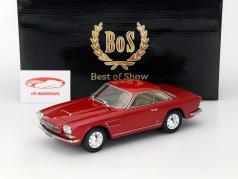 Maserati Sebring II Baujahr 1966 dunkelrot 1:18 BoS-Models