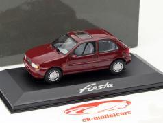 Ford Fiesta Ano 1996 roxo 1:43 Minichamps