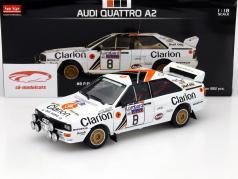 Audi Quattro A2 #8 RAC Rallye 1985 Eklund, Cederberg 1:18 太阳星 SunStar