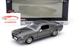 Ford Mustang Shelby GT500 Eleanor Gone in 60 Seconds 2000 dark gray 1:24 Greenlight