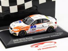 BMW M235i Racing #304 24h Nürburgring 2015 Ackermann, Wiskirchen, Walter, Sidorenko 1:43 Minichamps