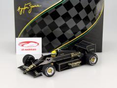 Ayrton Senna Lotus Renault 97T #12 Winner GP Portugal formula 1 1985 1:18 Premium X