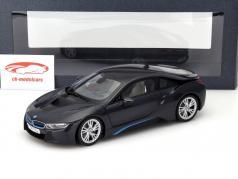 BMW i8 (i12) Jaar 2014 grijs metalen 1:18 ParagonModels