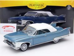 Plymouth Fury Closed Convertible ano 1960 azul / branco 1:18 SunStar