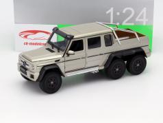 Mercedes-Benz G 63 AMG 6x6 Baujahr 2015 gold 1:24 Welly