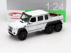 Mercedes-Benz G 63 AMG 6x6 Baujahr 2015 weiß 1:24 Welly