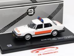 Saab 900i Baujahr 1987 Gemeente Politie 1:43 Triple9