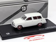 Saab 95 Baujahr 1961 weiß 1:43 Triple9
