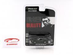 Ford Mustang GT out the Movie Bullitt 1968 dark green 1:64 Greenlight