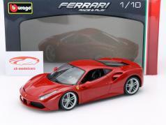 Ferrari 488 GTB rosso 1:18 Bburago