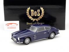 Maserati A6G 2000 Zagato donkerblauw 1:18 BoS-Models