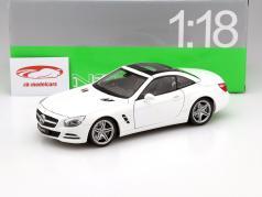 Mercedes-Benz SL 500 Baujahr 2012 weiß 1:18 Welly