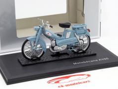 Motobecane AV 65 año 1965 azul 1:18 Norev