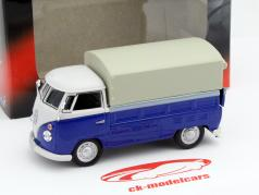 Volkswagen VW T1 Pick Up blue 1:43 Cararama