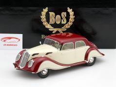 Panhard Levassor Dynamic Baujahr 1936 beige / dunkelrot 1:18 BoS-Models