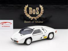 Mercedes-Benz CW 311 Buchmann jaar 1978 wit metalen 1:18 BoS-Models