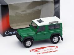 Land Rover Defender 90 grün 1:43 Cararama
