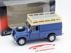 Land Rover Series III 109 blue 1:43 Cararama
