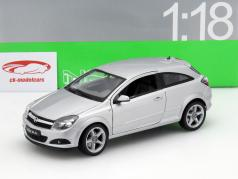 Opel Astra GTC Year 2005 silver 1:18 Welly