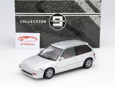 Honda CIVIC EF-3 Si Baujahr 1987 silber 1:18 Triple9