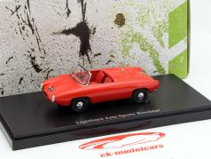 Lightburn Zeta Sports Roadster Year 1964 red 1:43 AutoCult