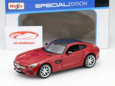 Mercedes-Benz AMG GT red 1:24 Maisto