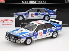 Audi Quattro A2 #12 Safari Rallye 1984 Wittmann, Diekmann 1:18 SunStar