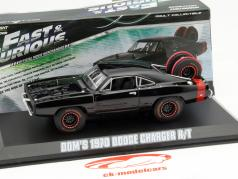 Dom's Dodge Charger R/T Offroad filme Fast and Furious 7 2015 preto 1:43 Greenlight