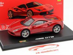 Ferrari 488 GTB rot 1:43 Bburago Signature