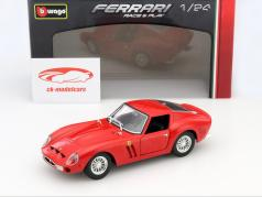 Ferrari 250 GTO Baujahr 1962 rot 1:24 Bburago