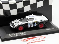 Lancia Stratos #2 RAC Rassemblement 1979 Alen, Kivimaki 1:43 Minichamps