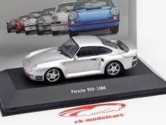 Porsche 959 Year 1986 silver 1:43 Atlas