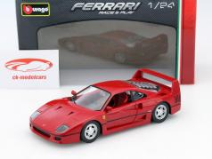 Ferrari F40 red 1:24 Bburago