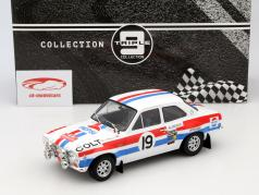 Ford Escort MK 1 RS 1600 #19 Rallye Monte Carlo 1972 Makinen, Liddon 1:18 Triple9