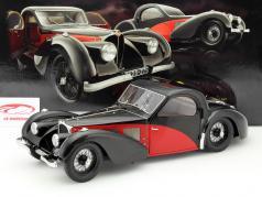 Bugatti Type 57 SC Atalante jaar 1937 zwart / rood 1:12 Bauer