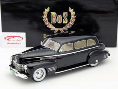 Cadillac Fleetwood 75 Touring Sedan Baujahr 1941 schwarz 1:18 BoS-Models