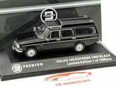 Volvo 145 Express Year 1969 black 1:43 Triple9