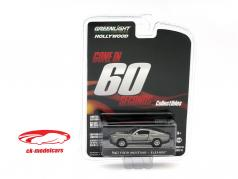 Ford Mustang Eleanor Gone in 60 Seconds 2000 silver 1:64 Greenlight