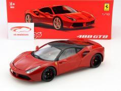 Ferrari 488 GTB rosso 1:18 Bburago Signature