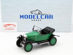 Opel 4 PS Laubfrosch RHD grün 1:18 Model Car Group