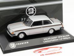 Volvo 242 GT Year 1978 silver 1:43 Triple9