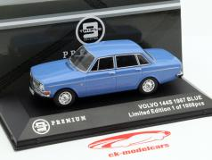 Volvo 144S ano 1967 azul 1:43 Triple9