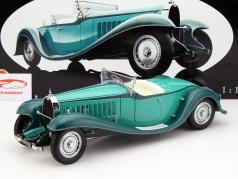 Bugatti Roadster Esders année 1932 turquoise 1:18 Bauer