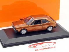 Volkswagen VW Scirocco år 1974 brun metallic 1:43 Minichamps